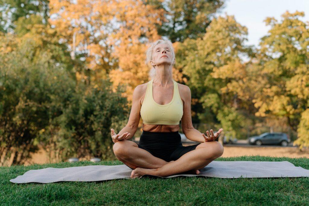 Übung gegen Kopfschmerzen