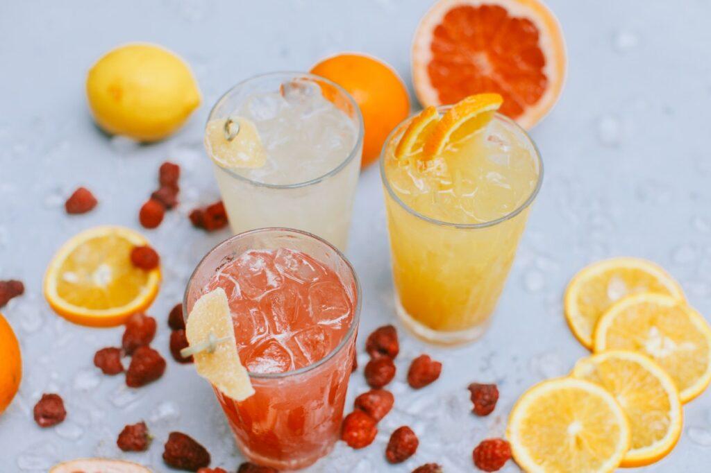 Gesunde Mocktails